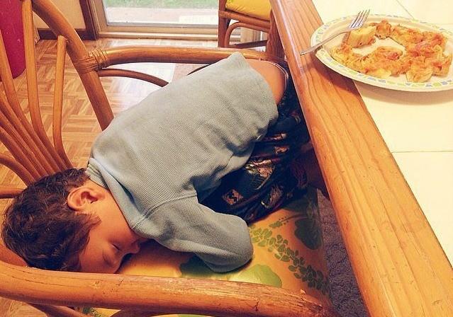 14 фотографий спящих деток, которые заставят вас улыбаться