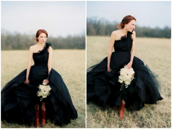 15 необычных свадебных нарядов