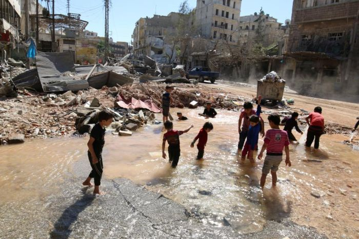 Игры сирийских детей