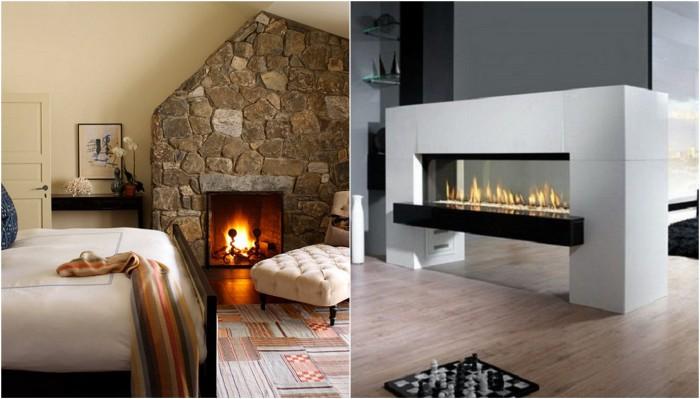 Камины, которые позволят создать уютную обстановку в доме