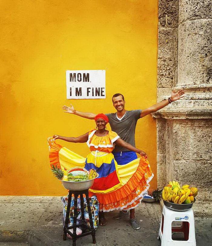 Мама, я в порядке: фотопроект Джонатана Каббена Киноньеса