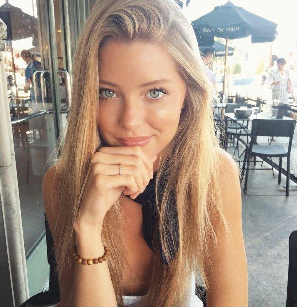 Милые девушки с красивыми глазами