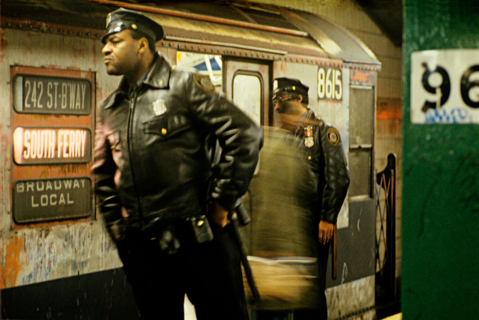 Нью-Йоркская подземка в 1979 году, фотограф Уилли Спиллер