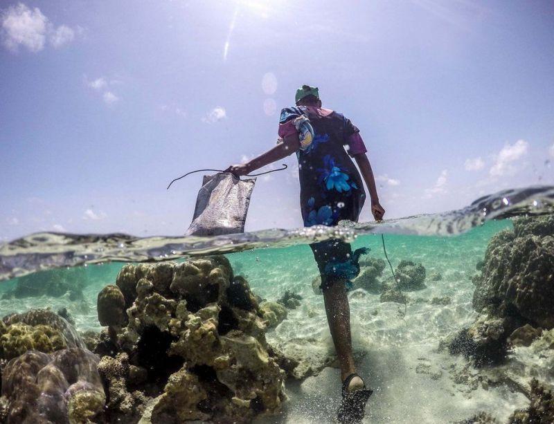 Охотники за осьминогами с побережья Занзибара
