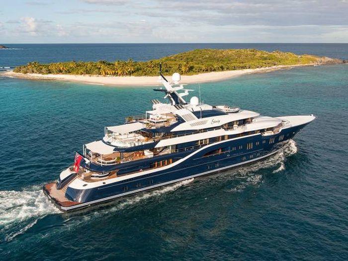Solandge — одна из самых роскошных яхт мира