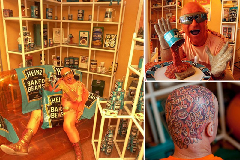 62-летний британец превратил свою квартиру в музей фасоли