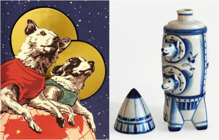 Белка и Стрелка — знаменитые советские собаки-космонавты