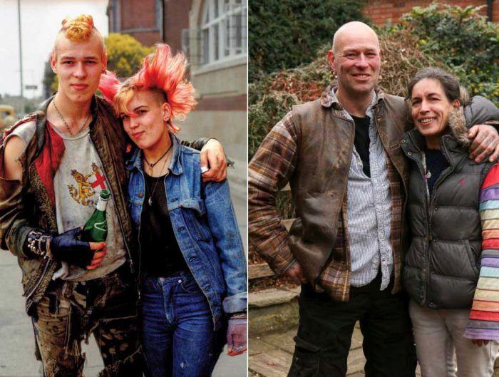 Британская молодежь 70-х — 80-х тогда и сейчас