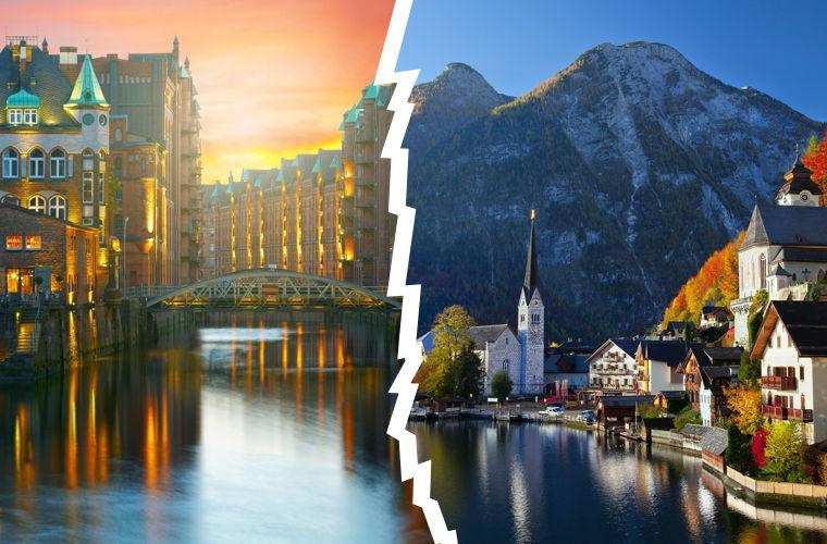 Германия vs Австрия