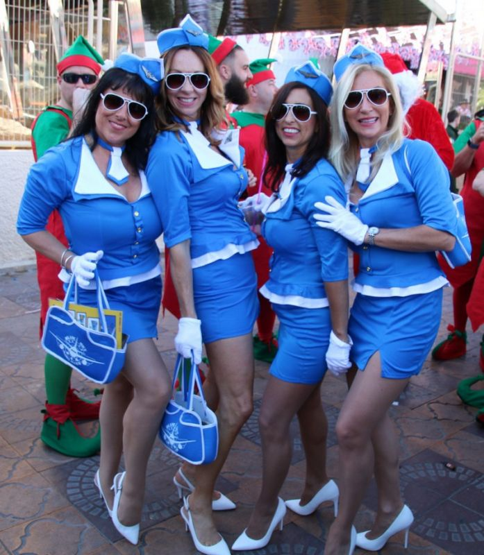 Костюмированный праздник в Испании