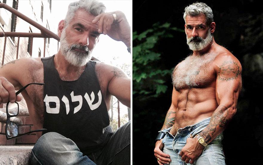 Шикарные мужчины в годах