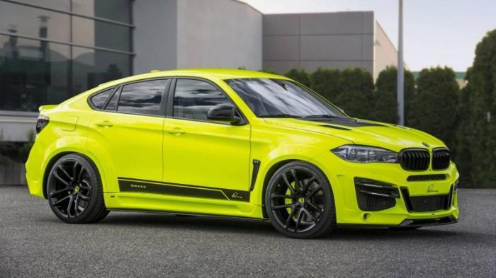 Сочный тюнинг BMW X6M от Lumma Design