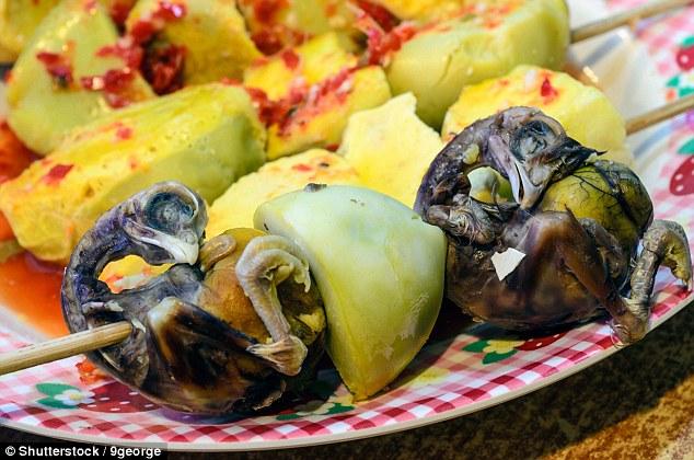 15 заморских деликатесов, при виде которых у вас пропадёт аппетит