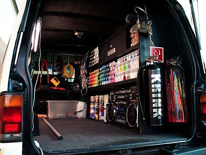 Автомобиль для уличного художника — Graff Mobile