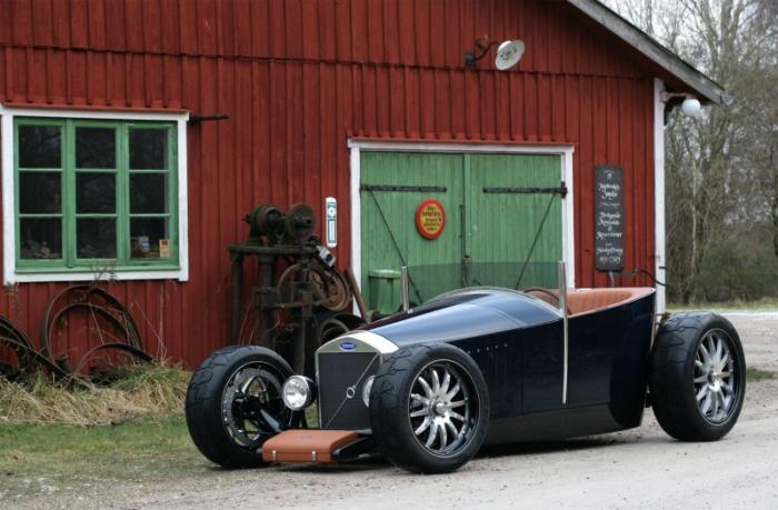 Caresto Hot Rod Jakob — невероятный хот-род Volvo