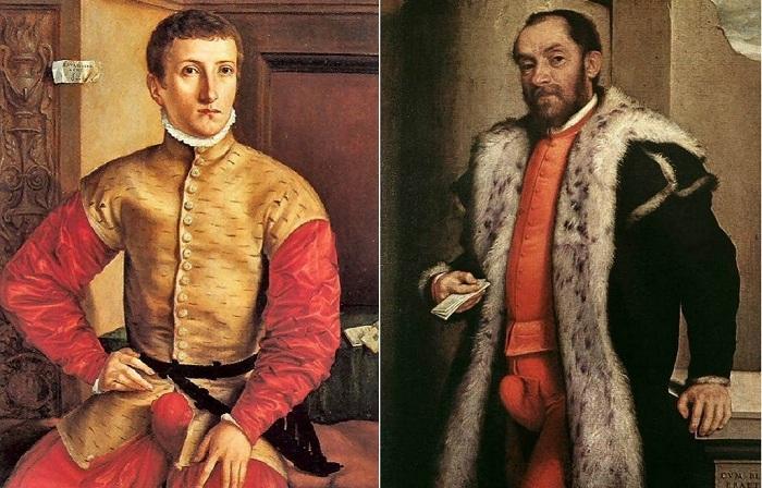 Гульфик — самая модная деталь мужского гардероба в XVI веке