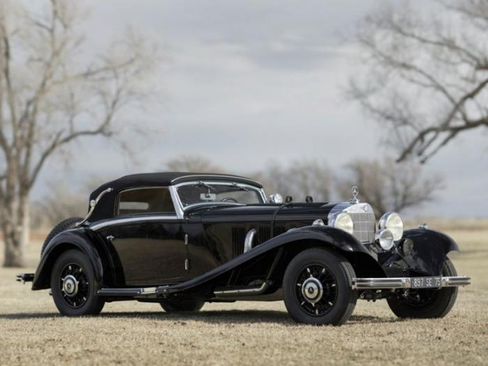 Mercedes-Benz 540 K Cabriolet: Туринг-кар