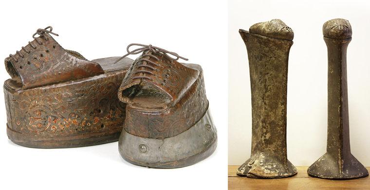 Неудобная обувь средневековых женщин