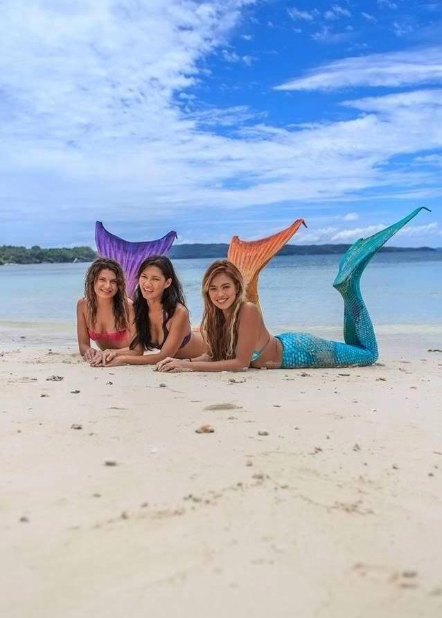В школе русалок на Филиппинах