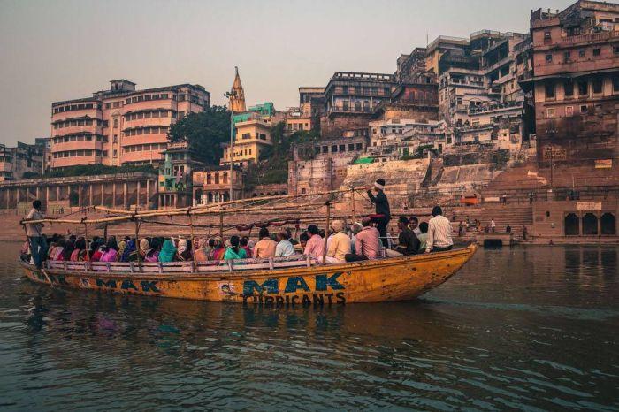 Варанаси — священный город-крематорий в Индии