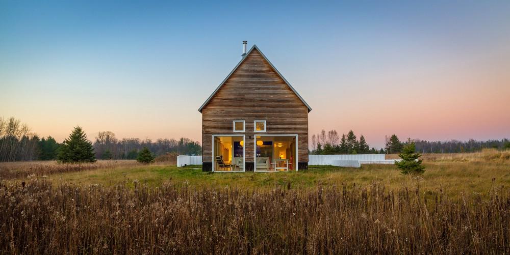 Загородный дом недалеко от озера Мичиган
