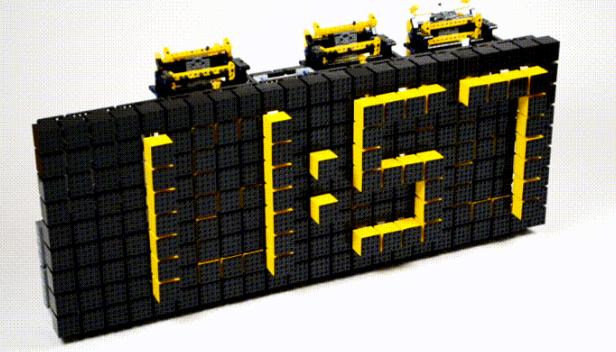 10 шедевральных машин из Лего в гифках
