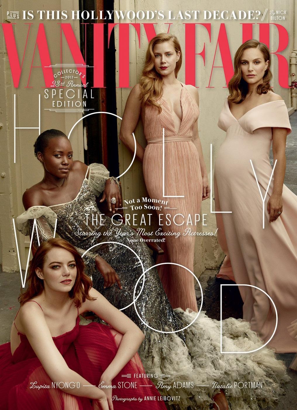 11 лучших голливудских актрис в спецвыпуске Vanity Fair