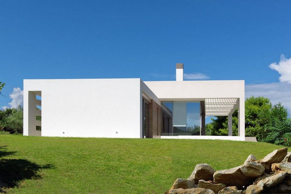 Частная резиденция в Греции с видом на море