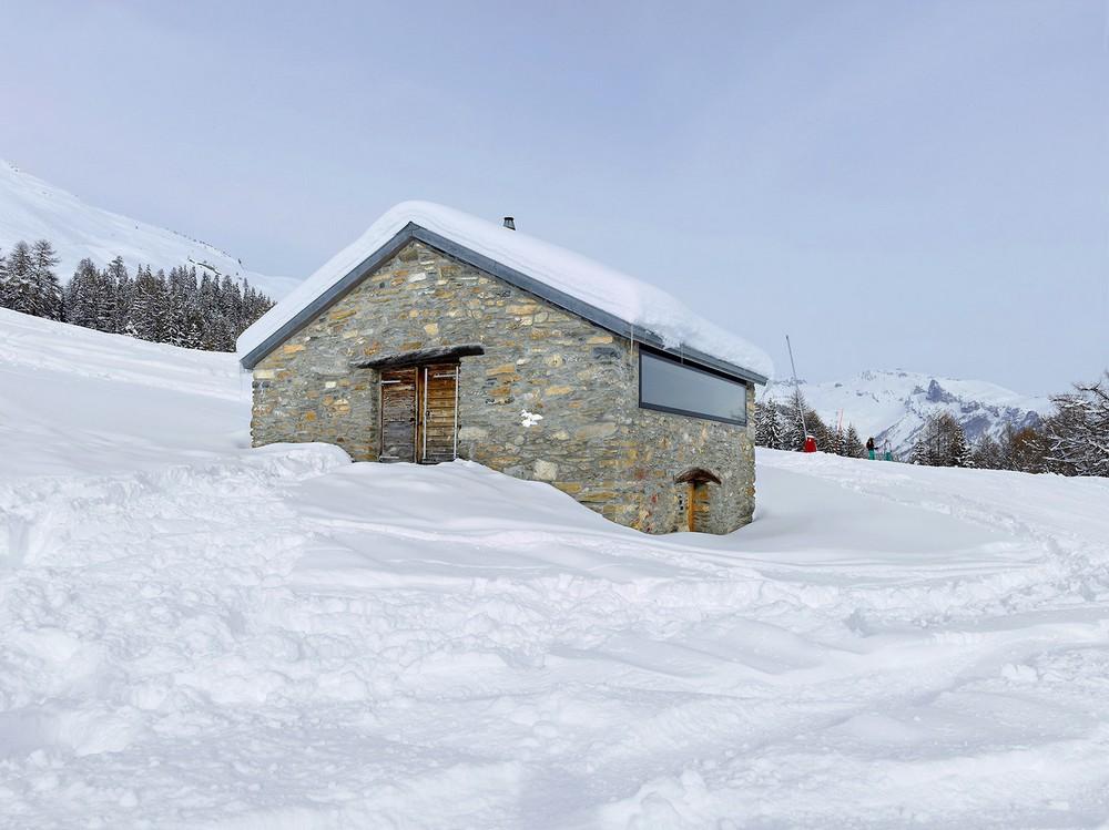 Домик для отдыха в швейцарских Альпах