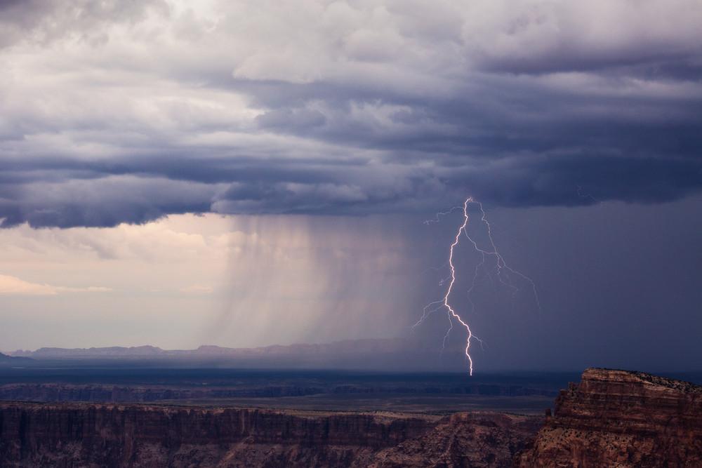 Красота непогоды: бури над Аризоной