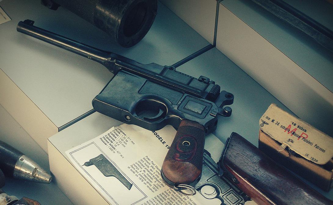 Маузер: главный пистолет революции