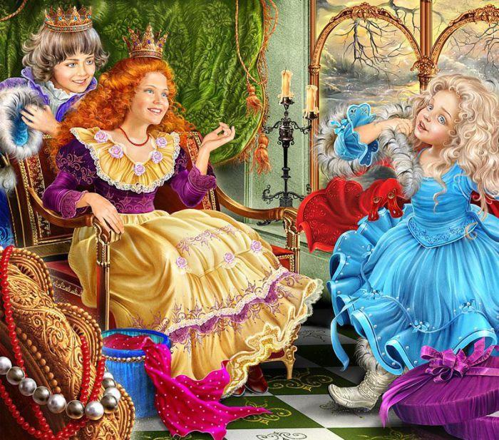 Мир сказки: волшебные иллюстрации Инны Кузубовой