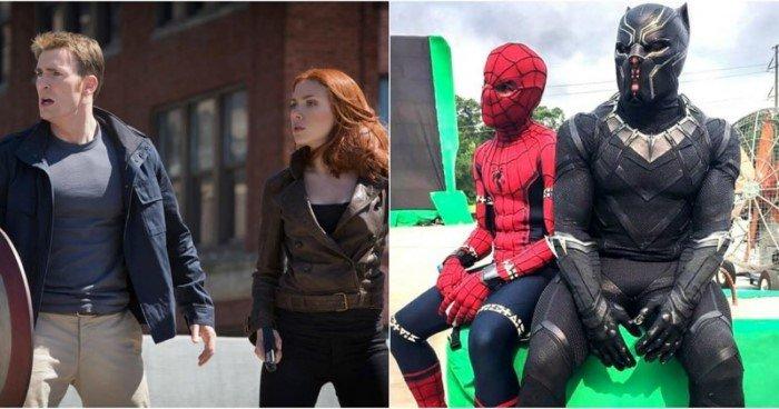 15 фото со съемок фильмов Marvel