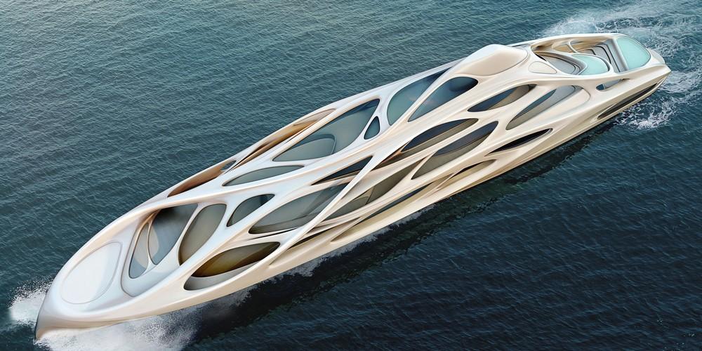 Крутые яхты от известных архитекторов