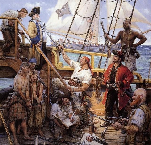 Необычные и интересные факты о пиратах