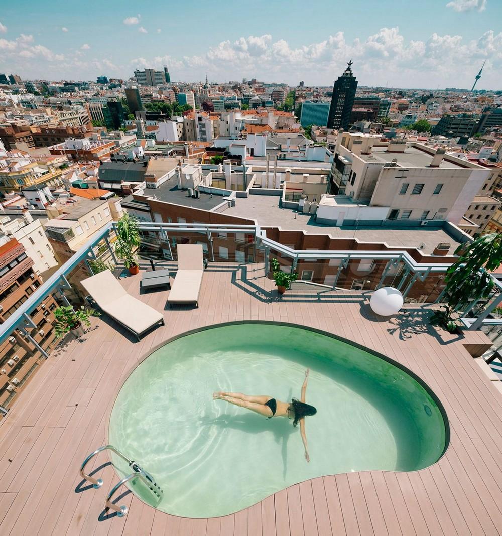 Скромный пентхаус в центре Мадрида