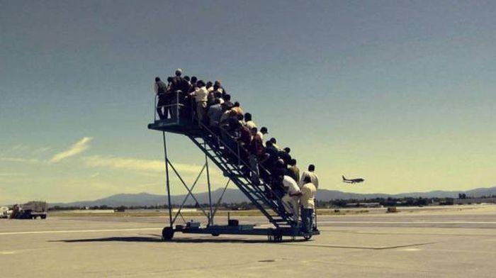 Забавные снимки из аэропортов