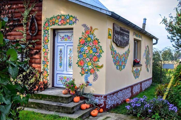 Залипье — самая яркая деревня Польши