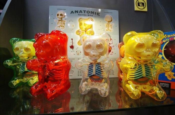 Анатомия игрушек от Джейсона Фрини