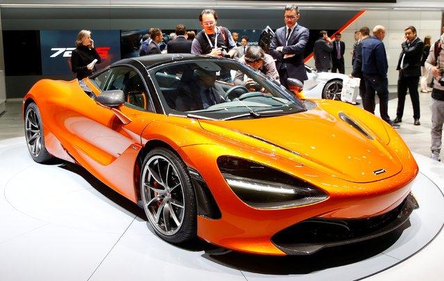 Автомобили на Geneva International Motor Show 2017
