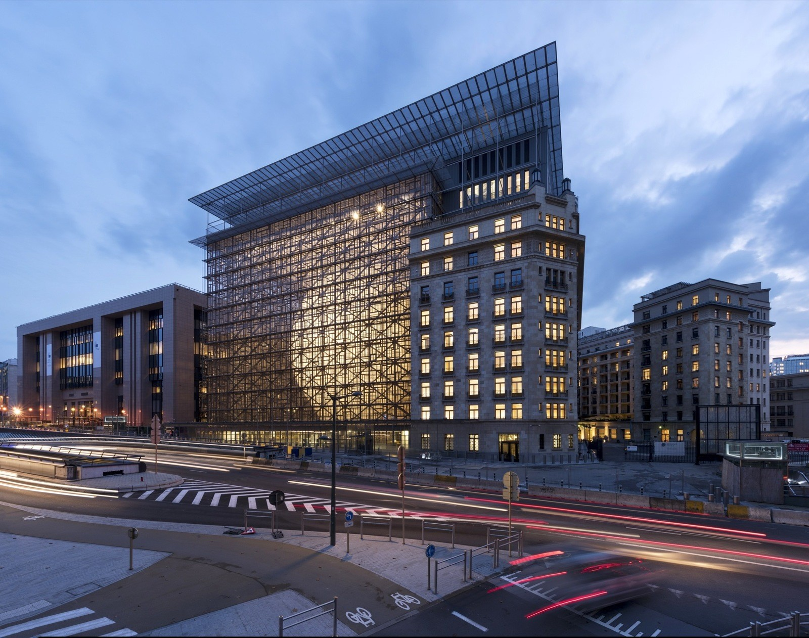 Брюссельская штаб-квартира ЕС и Совета Европейского союза