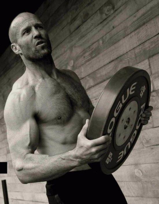 Джейсон Стейтем в фотосессии для журнала Men's Health