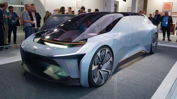Китайцы показали концепт электромобиля будущего NIO EVE