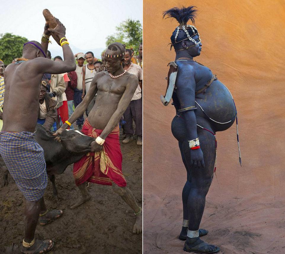 Конкурс на самого пузатого мужчину в Эфиопии