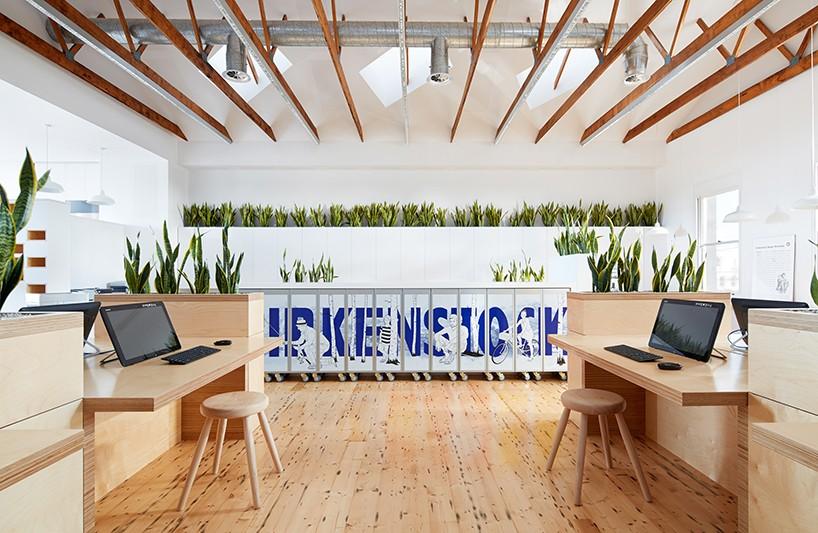 Новый офис Birkenstock