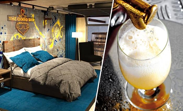 Самое пивное место на Земле — отель для любителей пива