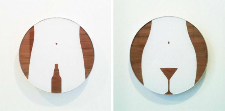 Самые необычные и креативные туалетные знаки