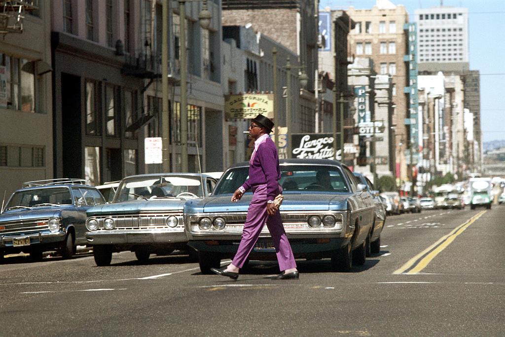 Солнечный полдень 1971 года в Сан-Франциско
