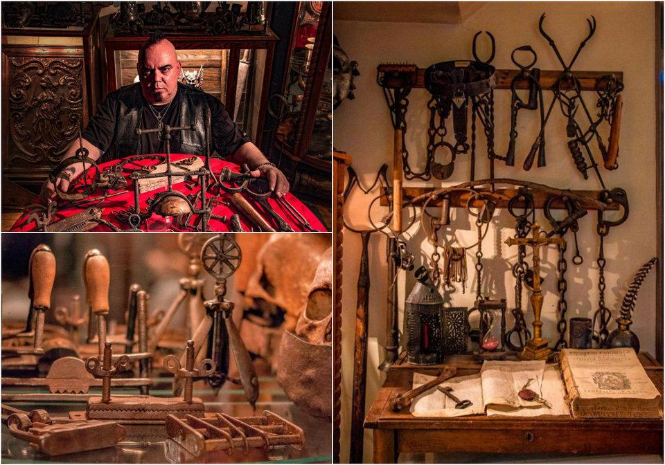 Удивительная коллекция старинных орудий пыток
