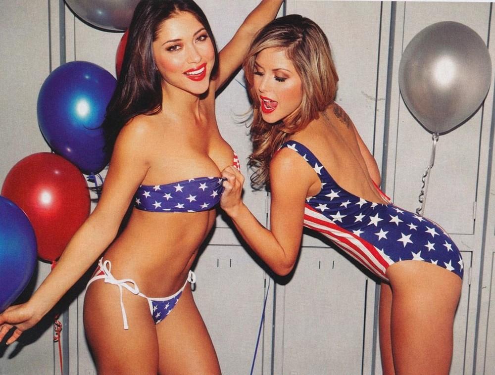 Красивые американки